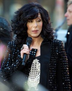 """Cher - Cher in Concert on NBC's """"Today Show"""" at Rockefeller Center in New York City"""