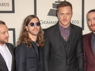 Imagine Dragons - 56th Annual Grammy Awards - Arrivals