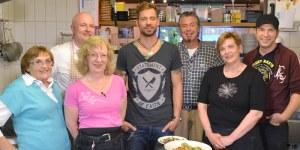 """Die Kochprofis im """"Waldrasthaus Karches"""" in Bischofsgrün"""