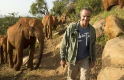 """Er hilft! – """"Hannes Jaenicke: Im Einsatz für Elefanten"""" heute im ZDF!"""
