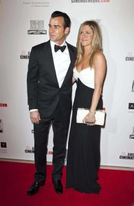 Justin Thceroux and Jennifer Aniston - 26th Annual American Cinematheque Award