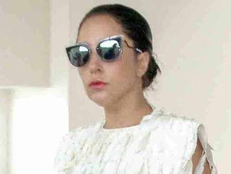Lady Gaga Sighted at LAX on May 5, 2015