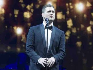 Michael Buble in Concert at Palacio de los Deportes in Madrid