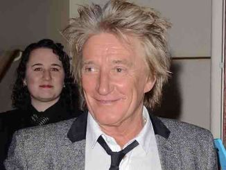 """Rod Stewart - """"Once"""" the Musical Charity Gala Night at the Phoenix Theatre in London"""