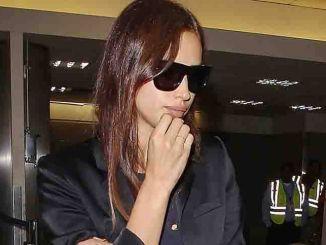 Irina Shayk Sighted at LAX Airport on August 18, 2015
