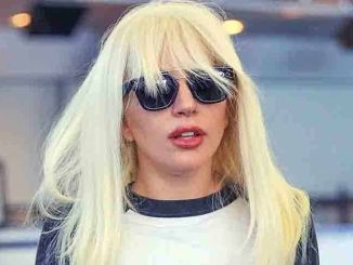 Lady Gaga Sighted Arriving at JFK Airport in New York City on October 6, 2015