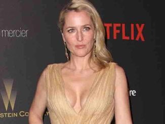 Gillian Anderson - 2016 Weinstein Company and Netflix Golden Globes After Party - Arrivals