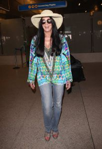 Cher Sighted at LAX Airport on July 12, 2015