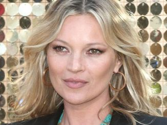 "Kate Moss - ""Absolutely Fabulous: The Movie"" World Premiere"