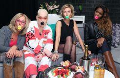 """""""Promi Shopping Queen"""" mit Margarethe Schreinemakers, Wolke Hegenbarth, Hella von Sinnen und Otlile Mabuse"""