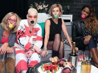 """""""Promi Shopping Queen"""" mit Margarethe Schreinemakers, Wolke Hegenbarth, Hella von Sinnen und Otlile Mabuse - TV"""