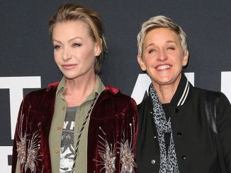 Portia de Rossi, Ellen DeGeneres - Saint Laurent at the Palladium