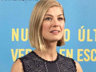 """Rosamund Pike - """"What We Did on Our Holiday"""" (""""Nuestro Ultimo Verano en Escocia"""") Madrid Photocall"""
