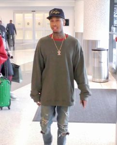 Tyga - Celebrity Sightings at LAX Airport on February 17, 2016