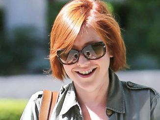 Alyson Hannigan Sighted in Los Angeles on July 10, 2015