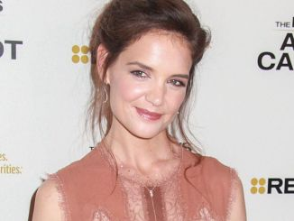 "Katie Holmes - ""The Kennedys After Camelot"" TV Mini-Series Los Angeles Premiere"