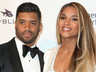 Russell Wilson, Ciara - 25th Annual Elton John AIDS Foundation's Academy Awards Viewing Party