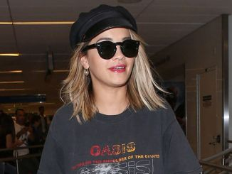 Rita Ora Sighted at LAX Airport on July 11, 2017