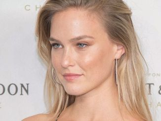Bar Refaeli and Moet & Chandon Celebrate Moet & Chandon as the Official Champagne of Times Square in New York City for New Year's Eve 2017