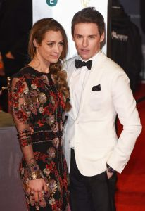 Hannah Bagshawe and Eddie Redmayne - EE British Academy Film Awards 2017
