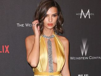 Emily Ratajkowski - Weinstein Company and Netflix 74th Annual Golden Globes After Party