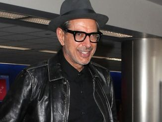 Jeff Goldblum Sighted at LAX Airport in Los Angeles on October 17, 2017