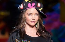 Model Miranda Kerr Made LA: Moschino Fashion Show Spring/Summer 17 Menswear and Women's Resort Collection