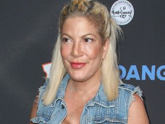 "Tori Spelling - Disney's ""The Lion King"" Sing-Along Los Angeles Screening"