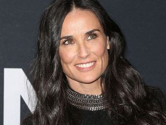 Demi Moore - Saint Laurent at the Palladium