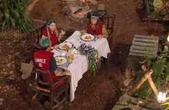 Das verdiente Dinner für Tina York, Daniele Negroni und Jenny Frankhauser