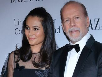 "Emma Heming and Bruce Willis - ""An Evening Honoring Valentino"" Lincoln Center Corporate Fund Black Tie Gala"