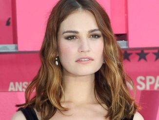"""Lily James - """"Baby Driver"""" UK Premiere"""