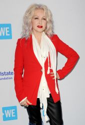Cyndi Lauper - WE Day California To Celebrate Young People Changing The World