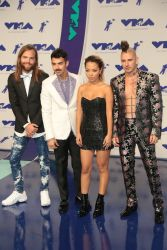 Jack Lawless, Joe Jonas, JinJoo Lee and Cole Whittle of DNCE - 2017 MTV Video Music Awards