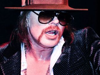 Axl Rose - Mercedes-Benz Fashion Week Fall 2010 - L'Uomo Vogue Afterparty - Guns N' Roses in Concert - February 15, 2010
