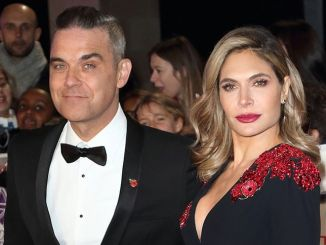 Robbie Williams and Ayda Field - Pride of Britain Awards 2018
