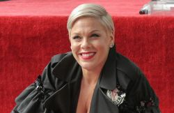 Pink Honored with a Star on the Hollywood Walk of Fame