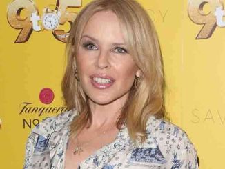 "Kylie Minogue - Dolly Parton's ""9 to 5 the Musical"" Gala Night at The Savoy Theatre - Arrivals"