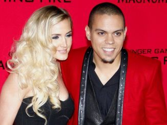 """Evan Ross and Ashlee Simpson - """"The Hunger Games: Catching Fire"""" Los Angeles Premiere"""