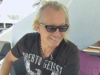 Robert Geiss auf der Indigo Star