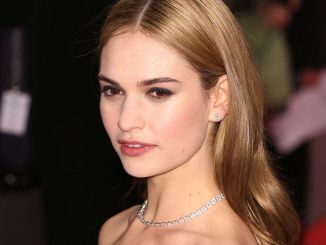 Lily James - 65th Annual Berlinale International Film Festival