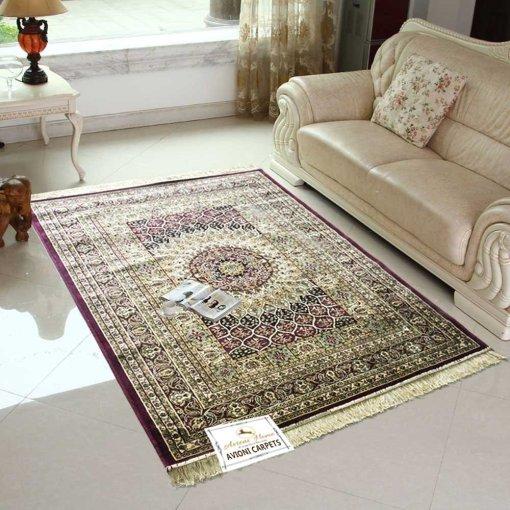 Persian Rugs – Premium Silk  Living Room Carpet – 4X6 Feet -Avioni