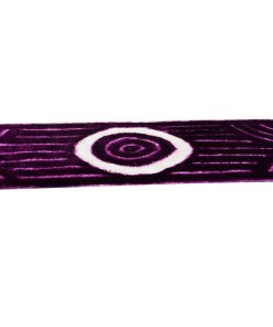 Bedside 3D Runner/Carpet in Purple by Avioni