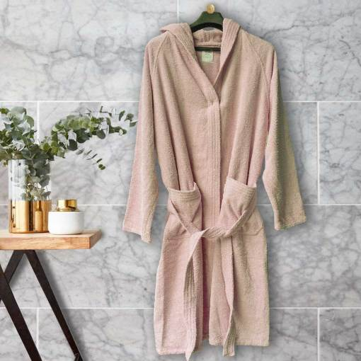 Bath Robe with Hood Export Quality 100% Cotton by Avioni – Large