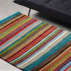 Premium Wool Carpet in Multicolor shades – 49X36 by Avioni