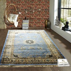 Persian Carpet – Premium Silk Luxury Area Rug – 6X9 Feet -Avioni