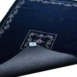 Blue Carpet | Wool Rugs | Embroidered | Avioni