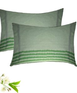 Pillow Cases  - With Lines - 100% Cotton -  Set of 2 -17X27 Inches - Avioni