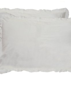 Pillow Cases – 100% Cotton – Plain White – Set of 2 – Avioni