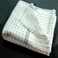 Avioni Premium 100% Cotton Extra Soft Double Bed Blankets In Checks